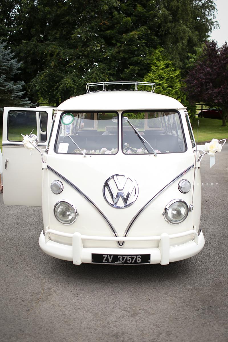 VW Van Wedding
