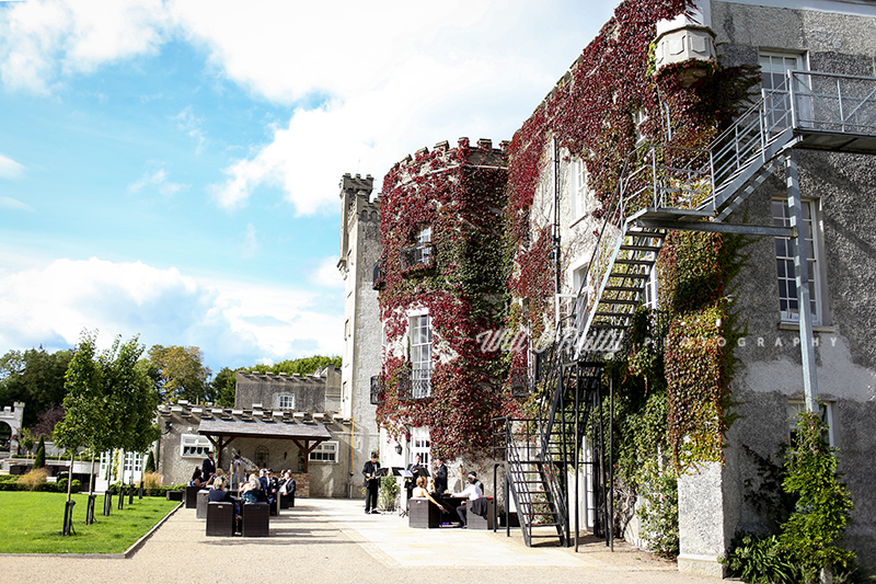 Castle Bellingham Reception Outdoor