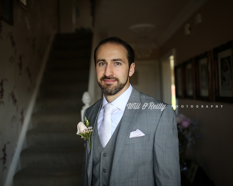 Wedding Groom Portrait