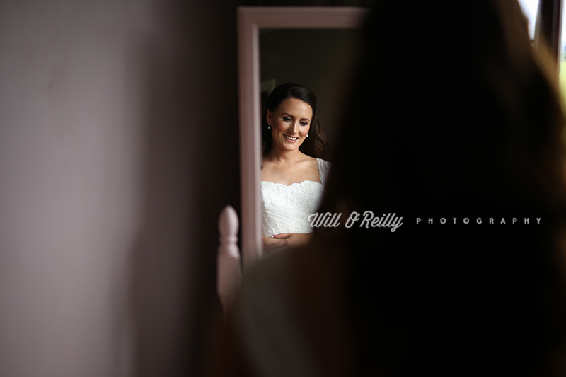 Wedding Bride Mirror