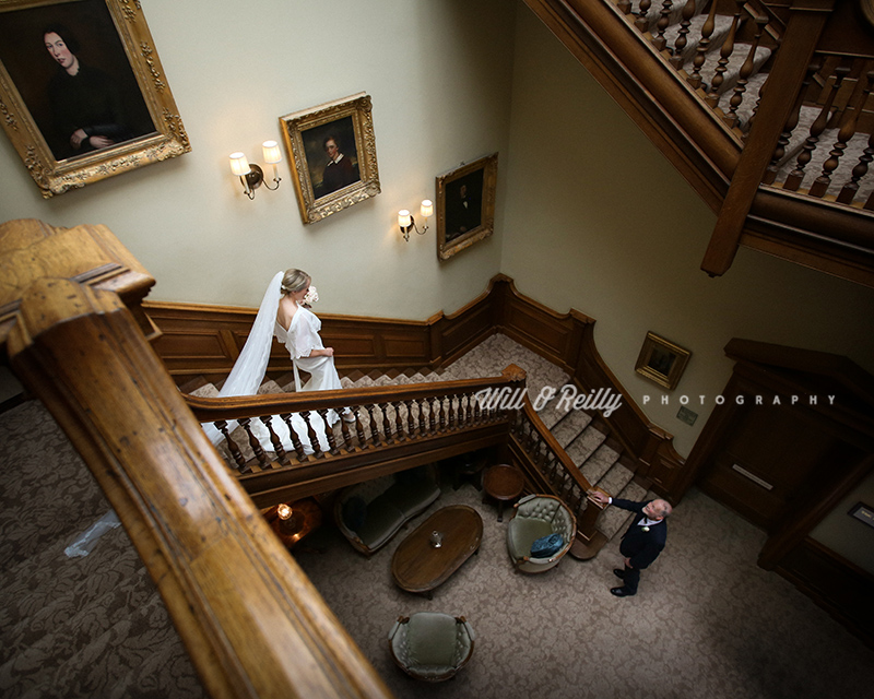 Wedding Bride Stairs