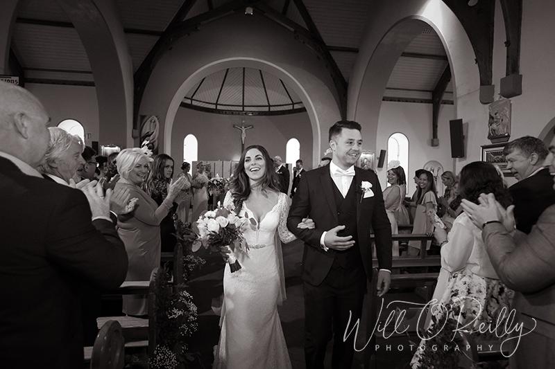 Star of the Sea Church Quilty Wedding Photos