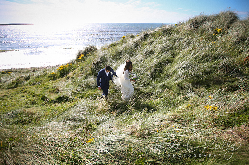 Irish Beach Wedding Photos