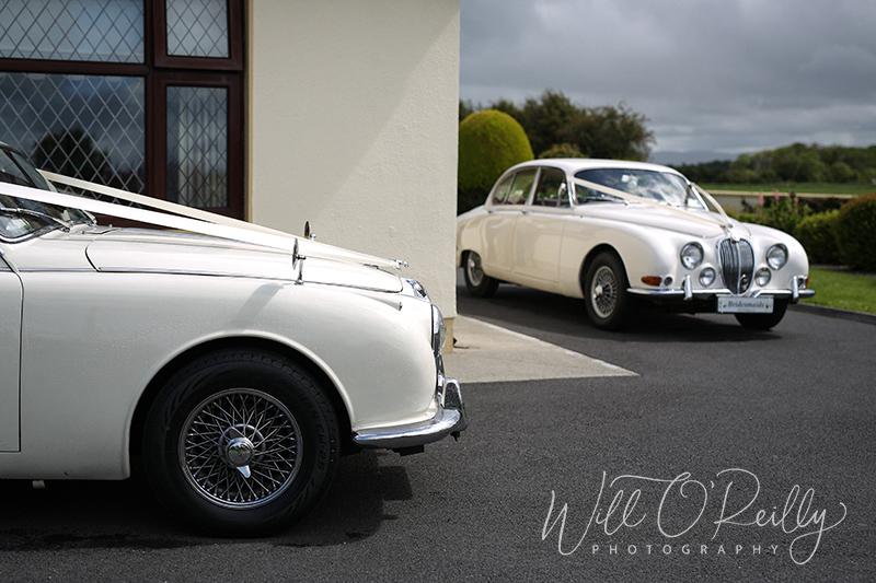 Vintage Jaguar Wedding Cars