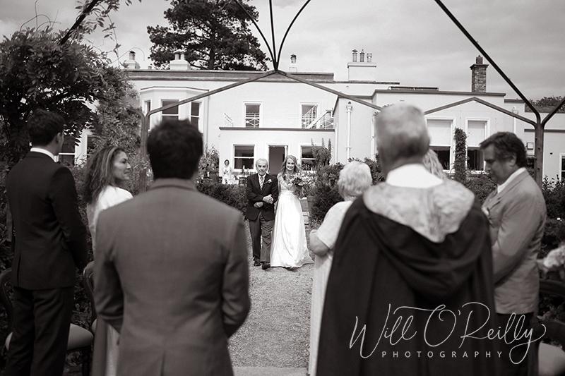 Airfield Estate Wedding Ceremony