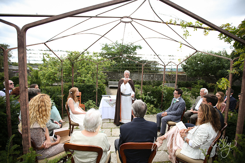 Airfield Estate Outdoor Wedding Ceremony