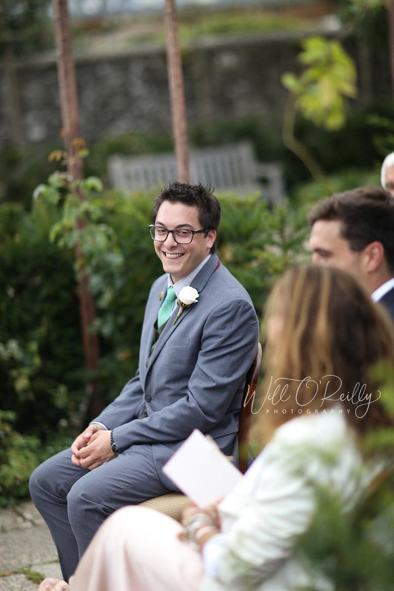 Airfield Estate Wedding Ceremony Photos