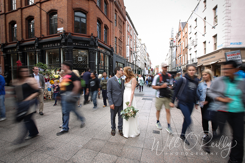 Grafton Street Wedding Photos