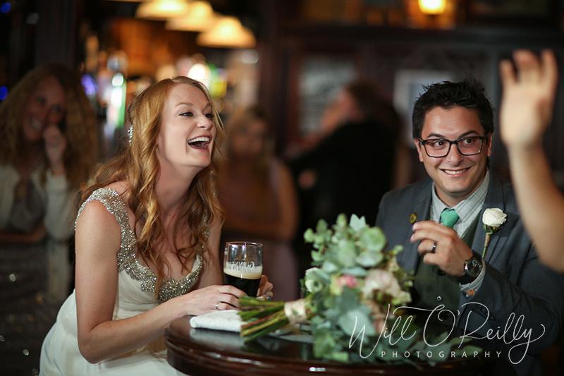 O'Neills Pub Wedding