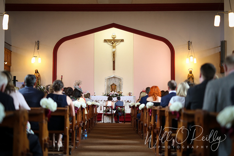 Cappamore Church Wedding Ceremony