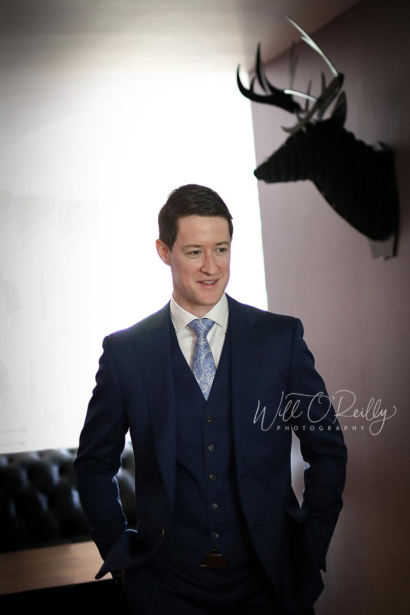 Wedding Photographer Groom